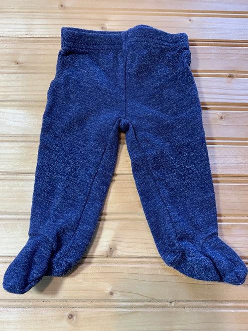 Size NB Blue Footie Pants