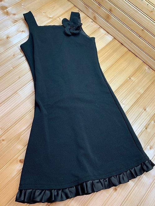Size 10 SWEET HEART ROSE Black Dress