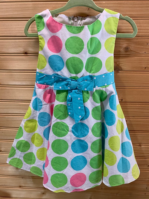 Size 3T RARE EDITIONS Dot Dress, Used