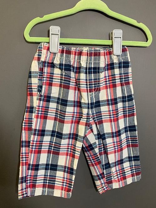 Size 3-6m CHILDREN'S PLACE Plaid Lightweight Pants
