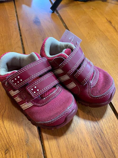 Size 5 Toddler ADIDAS Reddish Pink Sneaker