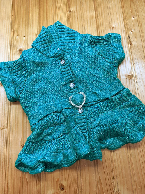 Size 24m Teal Knit Sweater Top