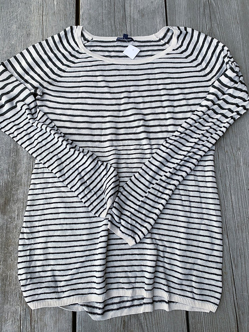 Size L Maternity GAP Striped Sweater Shirt