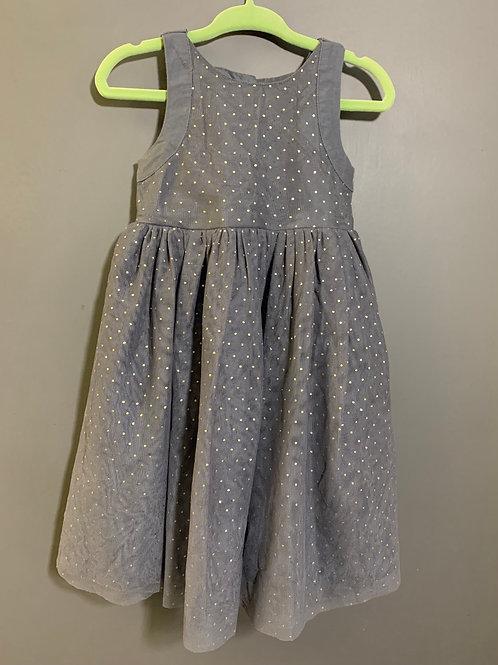 Size 18-24m OLD NAVY Shimmering Grey Dress