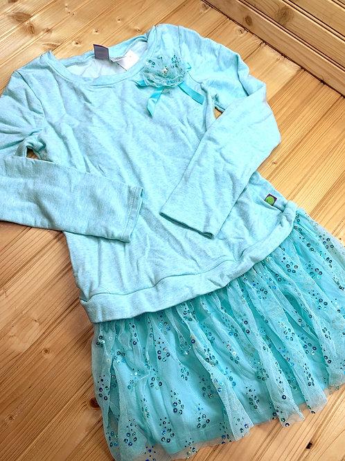 Size 10 DOLLIE & ME Blue Tulle Dress