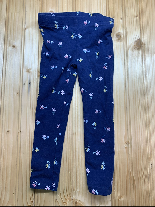 Size 2T CARTER'S Floral Leggings