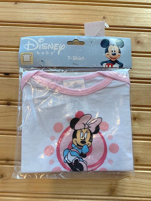 Size 0-6m DISNEY New Minnie Mouse T-Shirt