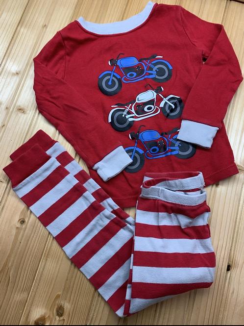 Size 3T 2pc Motorcycle Cotton PJ
