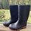 Size 11/12 Kids Black Mud Boots