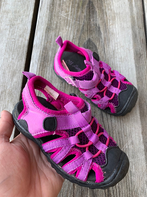Size 6 Toddler OLD NAVY Pink Trekking Sandal or Water Shoe