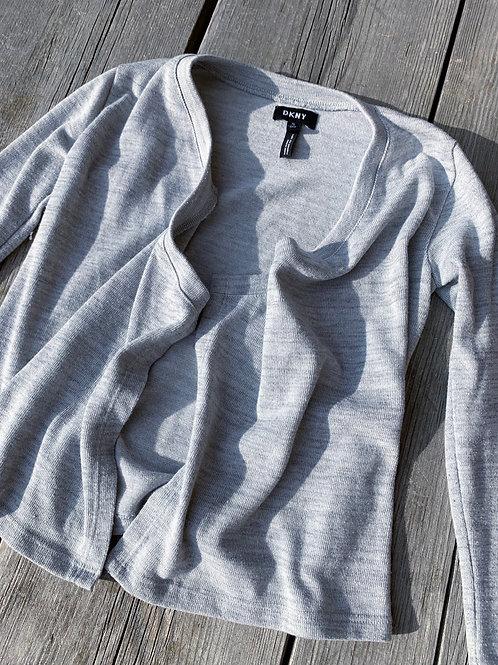 Size 7 DKNY Grey Cardigan