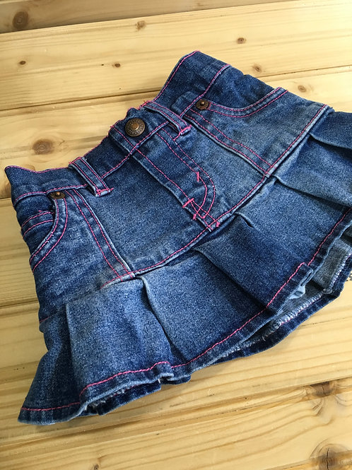 Size 12m LEVIS Jean Skirt with Short