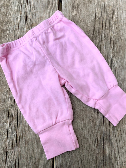 Size 0-3m BABY CONNECTION Pink Pants
