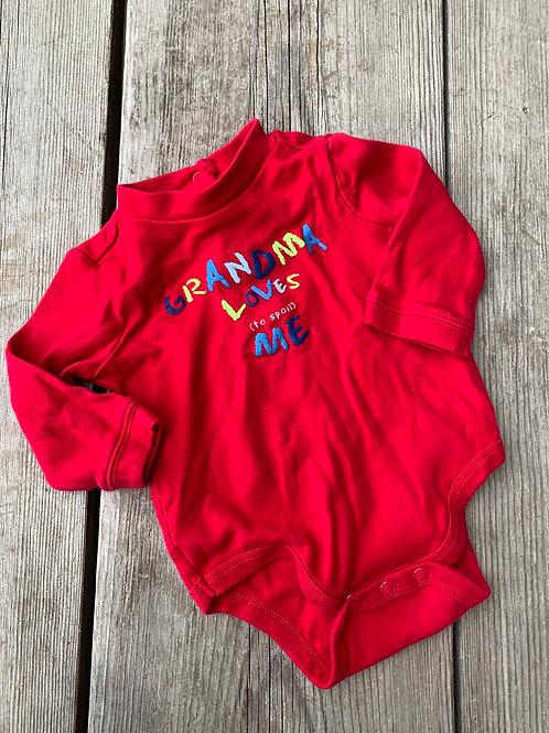 Size 6m Grandma Loves to Spoil Me Shirt
