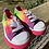 Size 6 CHILDREN'S PLACE Rainbow Sneakers