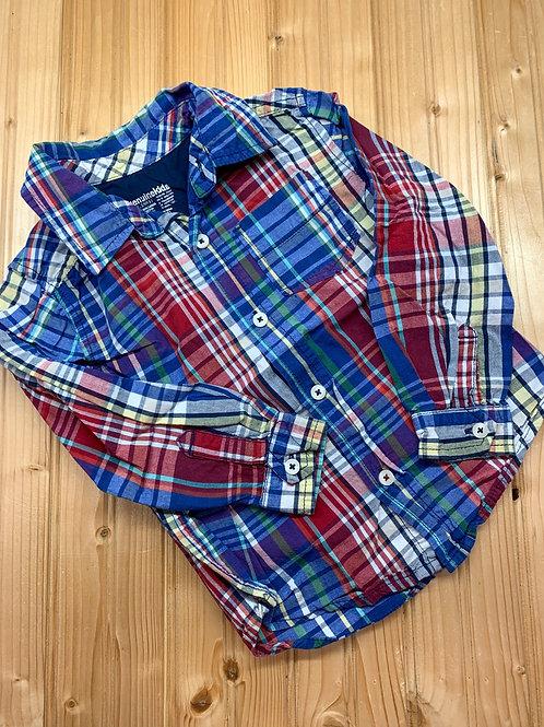 Size 4T OSHKOSH Plaid Shirt