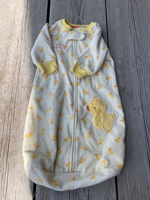 Size 0-9m Yellow Duck Sleep Sack