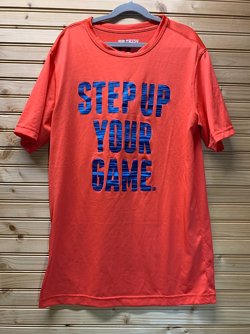 Size S Step Up Your Game Athletic Shirt, Used
