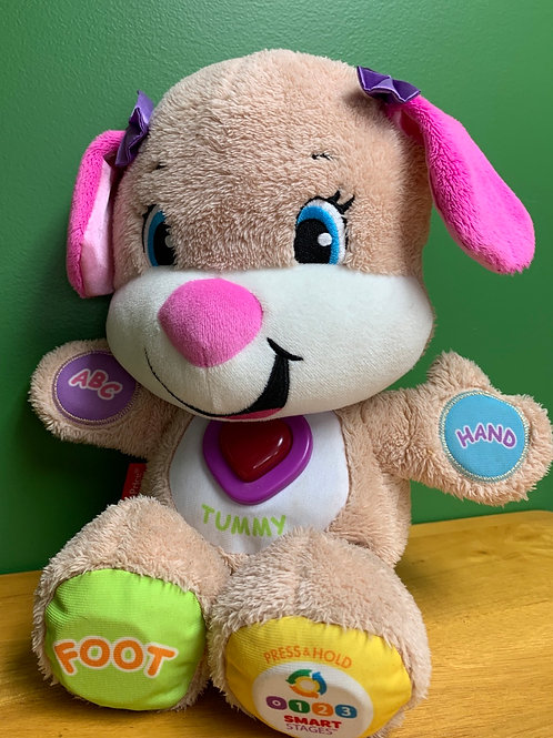 Laugh & Learn stuffed puppy