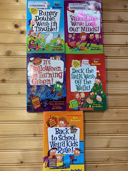 5 MY WEIRD SCHOOL SPECIAL EDITION Books