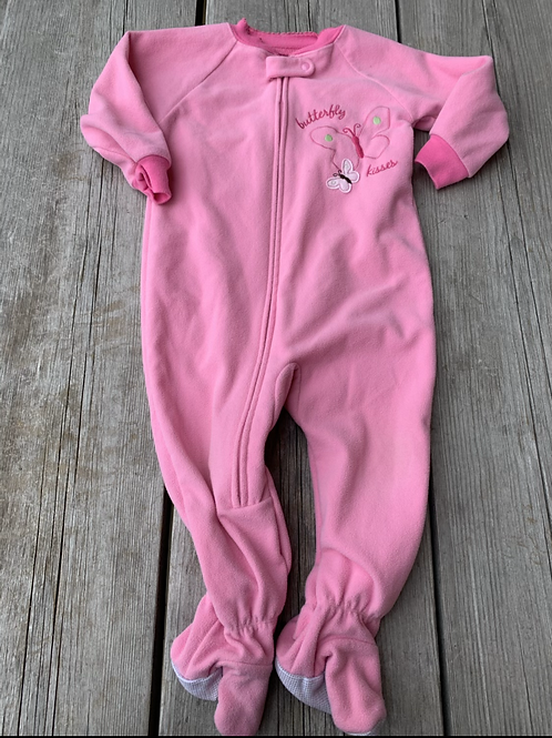 Size 18m CARTER'S Pink Fleece PJ