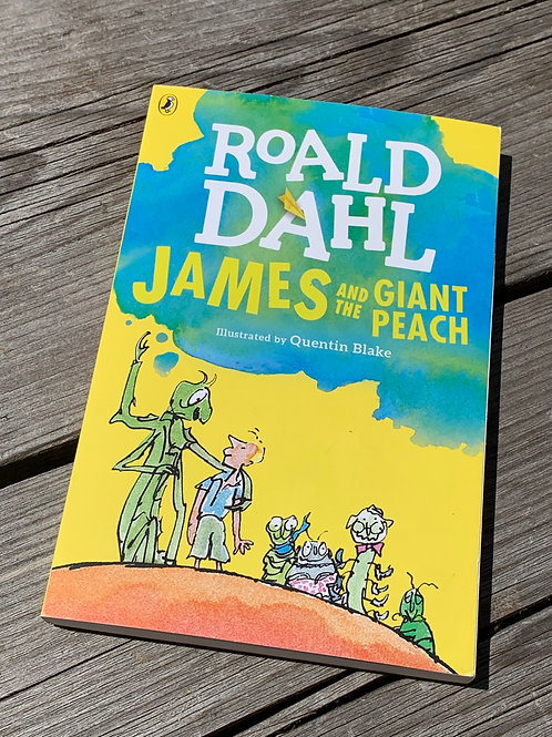 JAMES AND THE GIANT PEACH book front