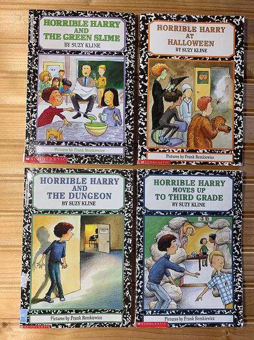 4 HORRIBLE HARRY Books