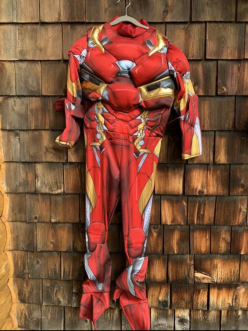 Size L (10-12) MARVEL Iron Man Costume, No Helmet