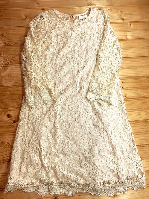 Size 10 DREAM Ivory Lace Dress