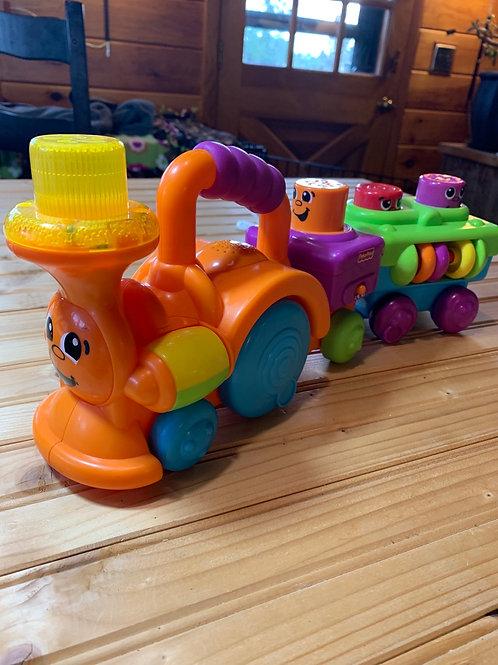 FISHER PRICE Peekaboo Train Toy