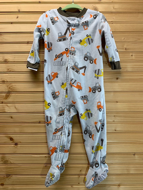Size 18m CARTERS Fleece Construction Pj, Used