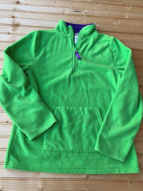 Size 14/16 Green and Purple Fleece