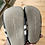 Size 5 (18-24m) Grey Soft Sole Shoes bottom