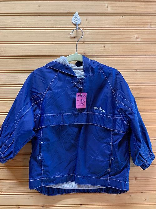 Size 18-24m Blue Windbreaker