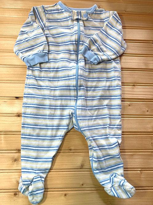Size 3-6m Striped Sleeper