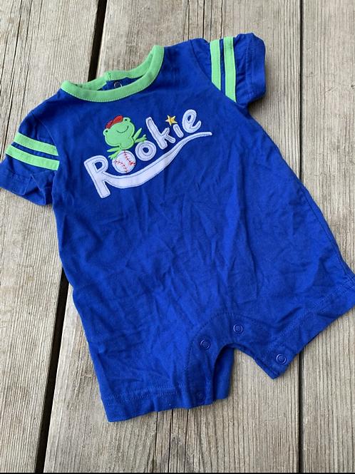 Size 0-3m Blue Rookie Frog Jumper