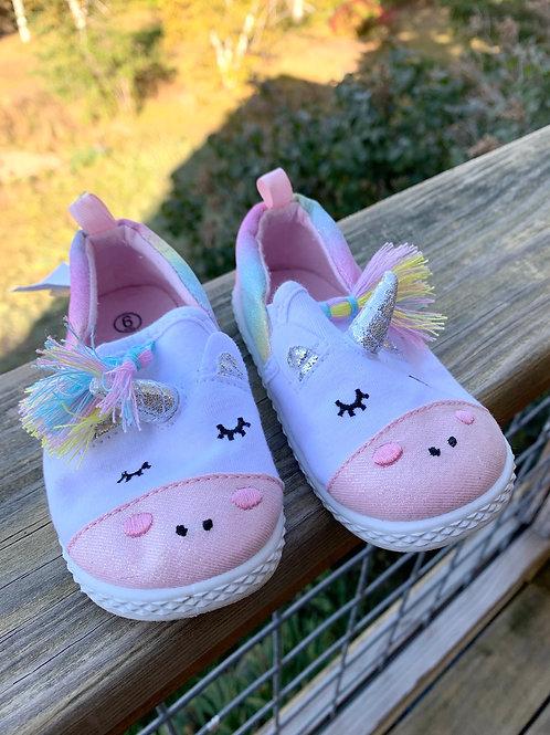 Size 6 Toddler Unicorn Shoes
