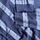 Size L PINK Blue Distressed Hoodie