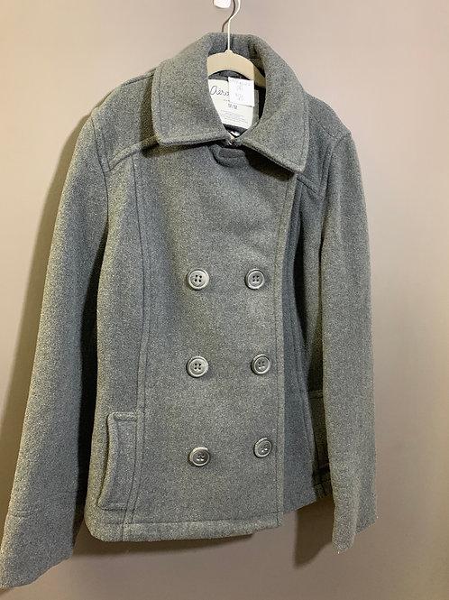 Size M/M AEROPOSTALE Grey Wool Blend Peacoat