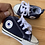 Size 2 Baby CONVERSE ALL STAR Blue Hightops