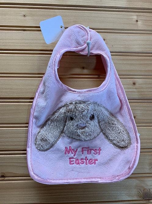 My First Easter Pink Bib