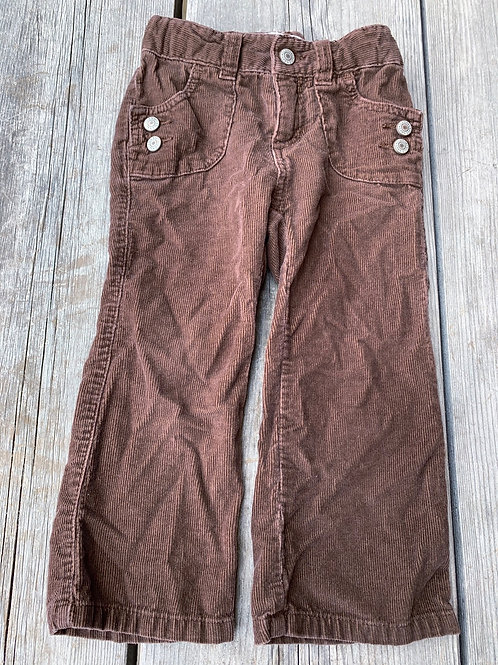 Size 2T OLD NAVY Brown Corduroys