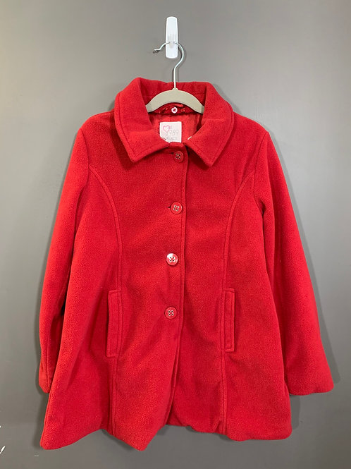 Size 7/8 CHILDREN'S PLACE Red Coat, Used