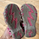 Size 5 Little Kids LL BEAN Pink Sandals bottom