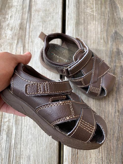 Size 6 Toddler Brown Sandal