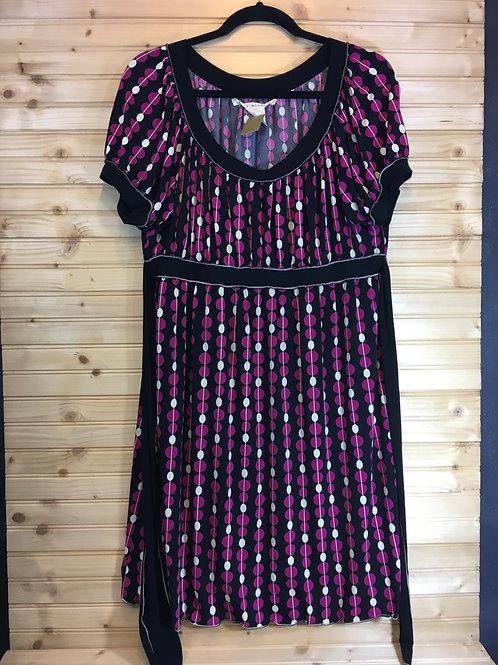 Retro Maternity Dress