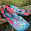 Size 13/1 Kids NEWTS Blue and Pink Toe Water Shoes