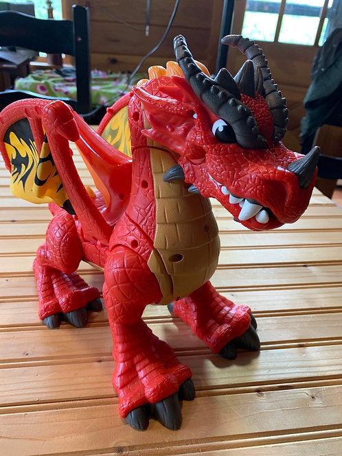 Robotic dragon front