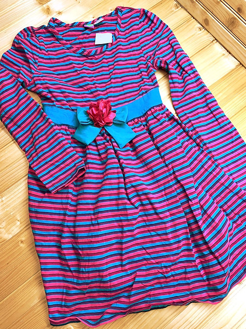 Size 10 DOLLIE & ME Pink and Teal Dress