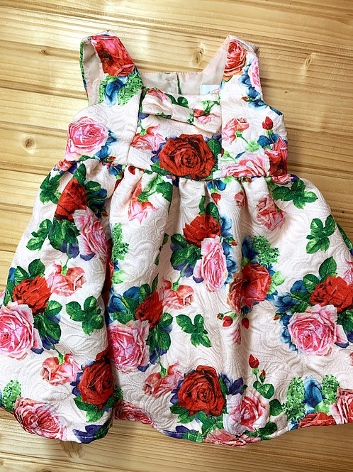 Size 12m 4 EVER FREE Roses Party Dress